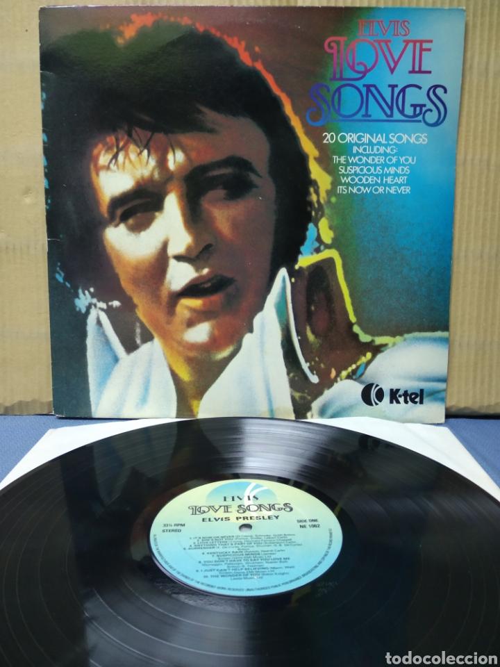 ELVIS PRESLEY - ELVIS LOVE SONGS 1979 ND (Música - Discos - LP Vinilo - Rock & Roll)