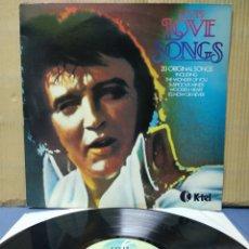 Discos de vinilo: ELVIS PRESLEY - ELVIS LOVE SONGS 1979 ND. Lote 165803845