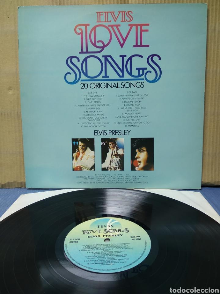 Discos de vinilo: Elvis Presley - Elvis Love Songs 1979 ND - Foto 2 - 165803845