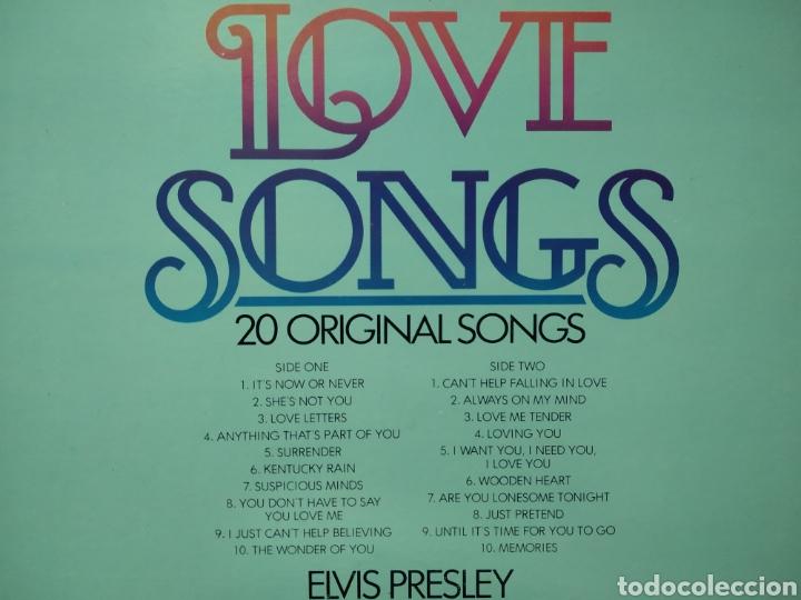Discos de vinilo: Elvis Presley - Elvis Love Songs 1979 ND - Foto 3 - 165803845