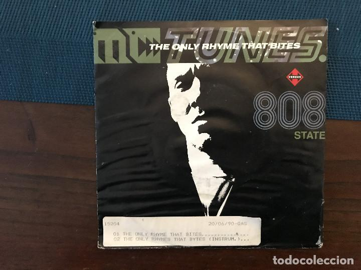 MC TUNES VERSUS 808 STATE ?– THE ONLY RHYME THAT BITES SELLO: ZTT ?– ZANG 3, ZTT ?– 9031-71670-7 (Música - Discos - Singles Vinilo - Techno, Trance y House)