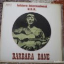 Discos de vinilo: LP. BARBARA DANE. FOLKLORE USA. 1974. BUENA CONSERVACION.. Lote 165821550