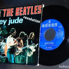 Discos de vinilo: THE BEATLES --HEY JUDE & REVOLUTION ORIGINAL 1ª EDICION 1968 ----- VERY GOOD PLUS ( VG+ ) --- XIII. Lote 165830446