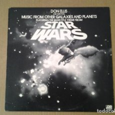 Discos de vinilo: DON ELLIS AND SURVIVAL -MUSIC FROM OTHER GALAXIES AND PLANETS- LP ATLANTIC 1977 ED. AMERICANA SD 182. Lote 165833162