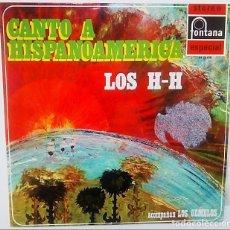 Discos de vinilo: VINILO DE CANTO A HISPANOAMÉRICA. LOS H-H Y LOS GEMELOS. 1970. Lote 165837730