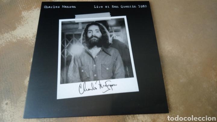 CHARLES MANSON LIVE AT SAN QUENTIN 1983 - LP VINILO NUEVO (Música - Discos - LP Vinilo - Pop - Rock - Extranjero de los 70)