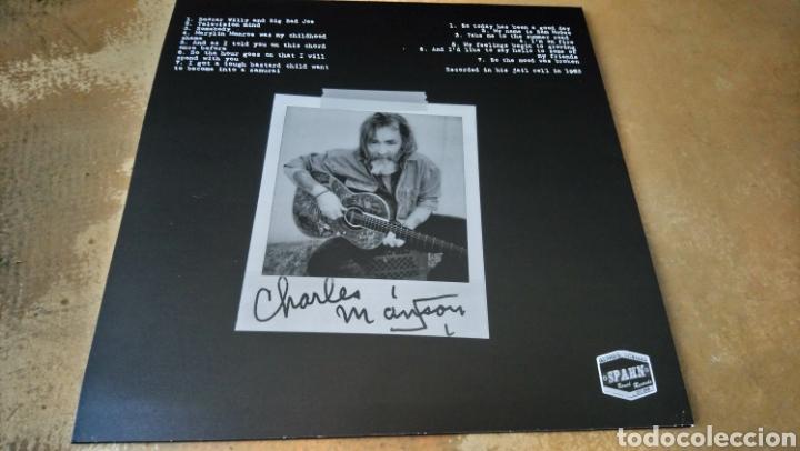 Discos de vinilo: Charles Manson live at San Quentin 1983 - LP vinilo nuevo - Foto 2 - 165845925