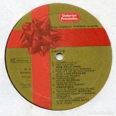 Discos de vinilo: RARO! LP PROMOCIONAL, FELICIÓN NAVIDEÑA DE GALERIAS PRECIADOS.. Lote 165847074