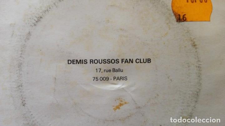 Discos de vinilo: DISCO DE DEMIS ROUSSOS. EDICIÓN FRANCESA.NEVER SAY GOOD- BYE AGAIN. - Foto 3 - 165850678