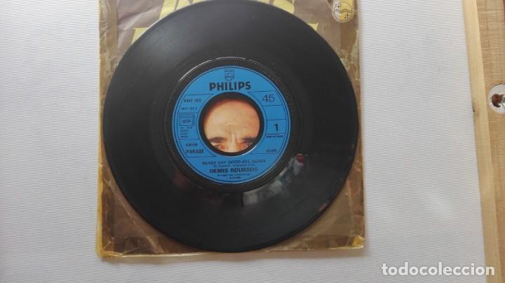 Discos de vinilo: DISCO DE DEMIS ROUSSOS. EDICIÓN FRANCESA.NEVER SAY GOOD- BYE AGAIN. - Foto 5 - 165850678
