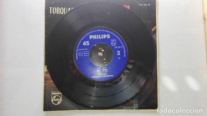 Discos de vinilo: DISCO DE TORQUATO Y LOS CUATRO.BABY NIGHT...DE VENTA EN UN LOTE.SOLO PARA VER FOTOS DEL DISCO. - Foto 3 - 165854990