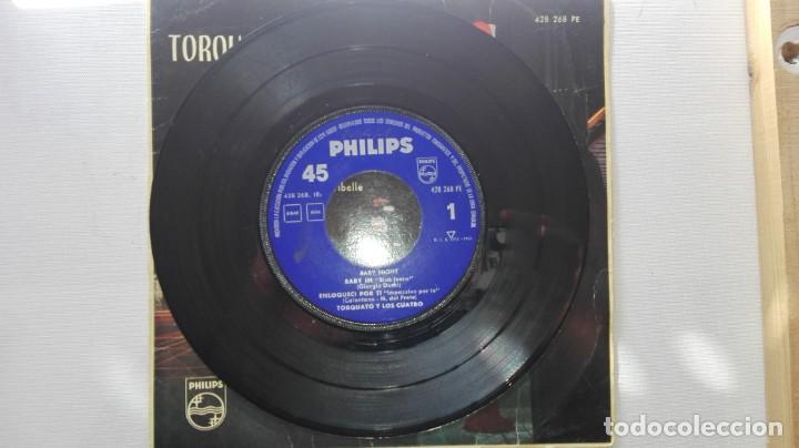 Discos de vinilo: DISCO DE TORQUATO Y LOS CUATRO.BABY NIGHT...DE VENTA EN UN LOTE.SOLO PARA VER FOTOS DEL DISCO. - Foto 4 - 165854990