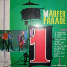 Disques de vinyle: MARFER PARADE Nº 1. RENATA, ELISEO DEL TORO, JUAN PABLO, LOS MARSHALLS, LUCIA ALTIERI, SANTY CASTELL. Lote 165856374