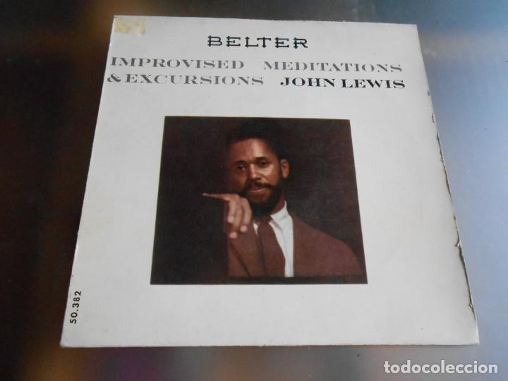 JOHN LEWIS - IMPROVISED MEDITATIONS & EXCURSIONS -, EP, LOVE ME + 1, AÑO 1960 (Música - Discos de Vinilo - EPs - Jazz, Jazz-Rock, Blues y R&B)