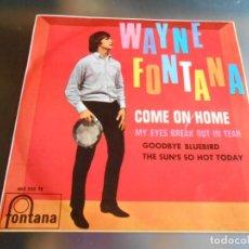 Discos de vinilo: WAYNE FONTANA, EP, GOODBYE BLUEBIRD + 3, AÑO 1966. Lote 165861462