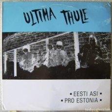 Discos de vinilo: ULTIMA THULE.EESTI ASI.PRO ESTONIA...MUY RARO...EX..VIKING-METAL SUECIA. Lote 165861818