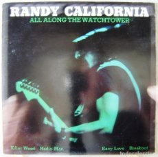 Discos de vinilo: RANDY CALIFORNIA.ALL ALONG THE WATCHTOWER...MAXI RARO. Lote 165863218