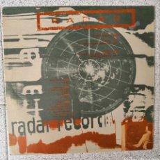 Discos de vinilo: LP RADAR RECORD. Lote 165871146