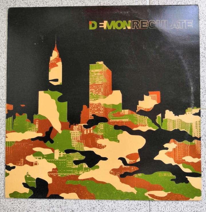 LP D=MON REGULATE (Música - Discos de Vinilo - Maxi Singles - Techno, Trance y House)