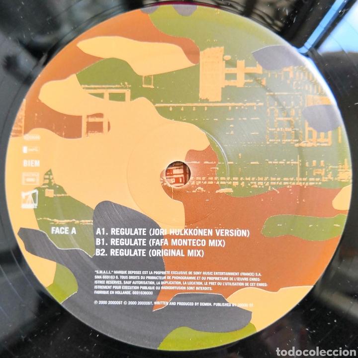 Discos de vinilo: LP D=MON REGULATE - Foto 2 - 165871585