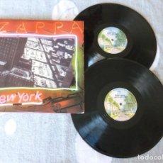 Discos de vinilo: FRANK ZAPPA IN NEW YORK 2LP PRIMERA EDICIÓN ESPAÑOLA DE 1978.. Lote 165871778