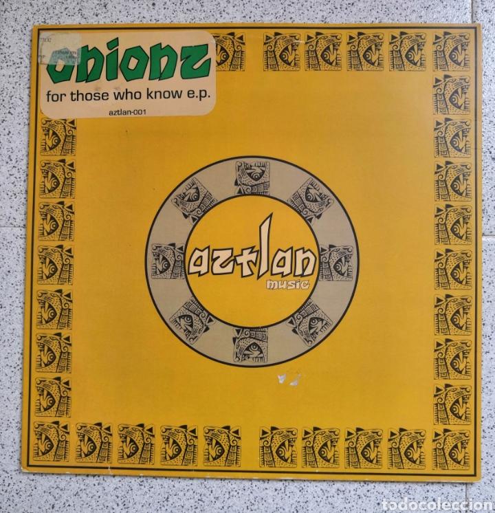 MAXI SINGLE AZTLAN ONIONZ (Música - Discos de Vinilo - Maxi Singles - Techno, Trance y House)
