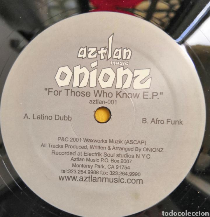 Discos de vinilo: MAXI SINGLE AZTLAN ONIONZ - Foto 2 - 165872086