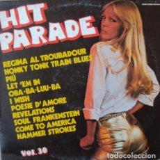 Discos de vinilo: HIT PARADE VOL.30 (ITALY, 1977). Lote 165874542