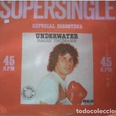 Discos de vinilo: HARRY THUMANN - UNDERWATER / AMERICAN EXPRESS (ESPAÑA, 1980). Lote 165875390