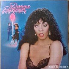 Discos de vinilo: DONNA SUMMER - BAD GIRLS (ESPAÑA, 1979). Lote 165877442