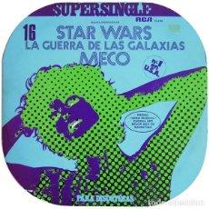 Discos de vinilo: MECO - MUSICA INSPIRADA EN STAR WARS (LA GUERRA DE LAS GALAXIAS) (ESPAÑA, 1975). Lote 165878910