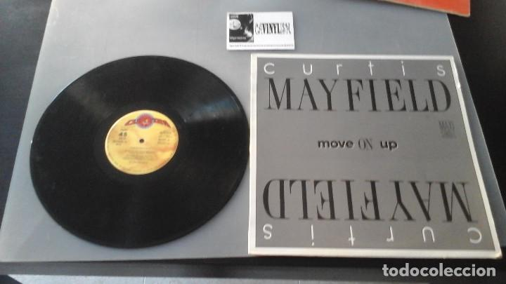 Discos de vinilo: Curtis Mayfield ?– Move On Up MAXI: Serdisco ?– 20112332 Muy Raro - Foto 1 - 165886330