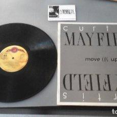 Discos de vinilo: CURTIS MAYFIELD ?– MOVE ON UP MAXI: SERDISCO ?– 20112332 MUY RARO. Lote 165886330