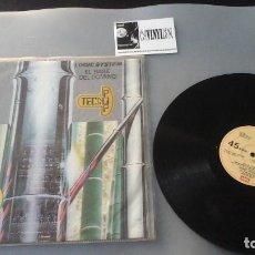 Discos de vinilo: LOGIC SYSTEM ?– EL BAILE DEL DOMINO MAXI: EMI ?– 10C 006-083232 . Lote 165887686