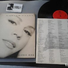 Discos de vinilo: MARIAH CAREY ?– MUSIC BOX LP: CBS/SONY ?– COL 474270 1 RARO. Lote 165889458