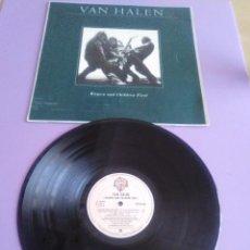 Discos de vinilo: LP VAN HALEN WOMEN AND CHILDREN FIRST SELLO WB S 90.234 AÑO 1980.SPAIN.. Lote 165891210