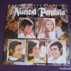 Discos de vinilo: LA PANDILLA SG MOVIEPLAY 1973 - NUESTRA PANDILLA / WITHOUT YOU TVE TELEVISION - PARCHIS - NINS. Lote 210773756