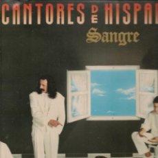 Discos de vinilo: LP. CANTORES DE HISPALIS. SANGRE. (P/B72). Lote 165895154