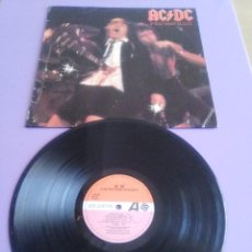 Discos de vinilo: LP. AC/DC - IF YOU WANT BLOOD YOU VE GOT IT. AÑO 1979 SPAIN-S90123. Lote 165895190