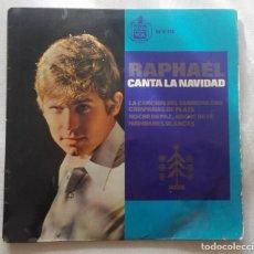 Discos de vinilo: DISCO DE RAPHAEL CANTA LA NAVIDAD.... Lote 165895650