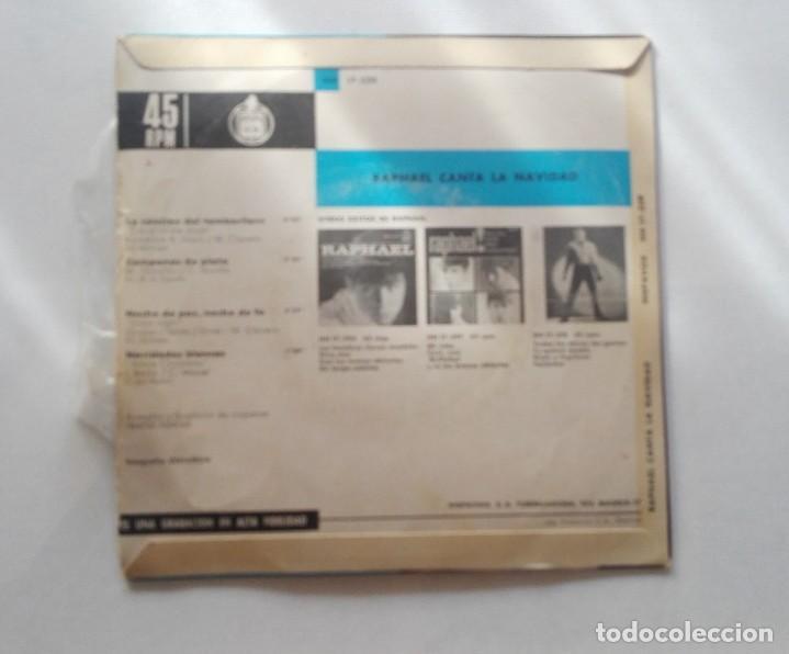 Discos de vinilo: DISCO DE RAPHAEL CANTA LA NAVIDAD... - Foto 2 - 165895650