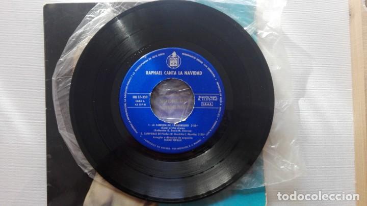 Discos de vinilo: DISCO DE RAPHAEL CANTA LA NAVIDAD... - Foto 3 - 165895650
