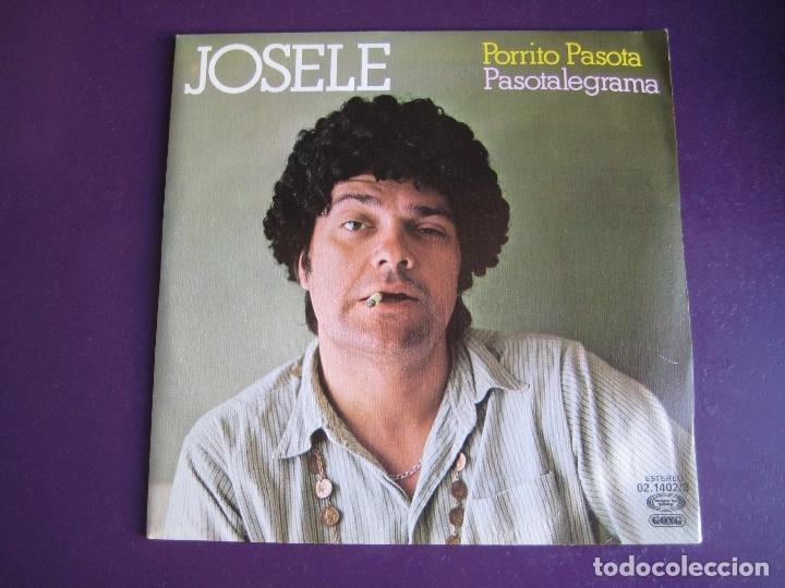 JOSELE SG MOVIEPLAY 1979 - PORRITO PASOTA / PASOTALEGRAMA - TVE HUMOR BIZARRO - (Música - Discos - Singles Vinilo - Bandas Sonoras y Actores)