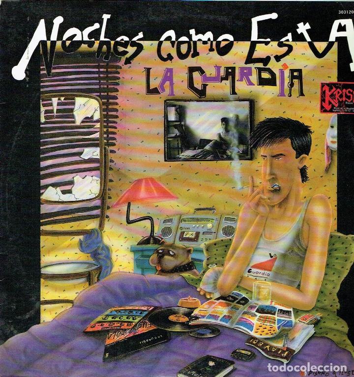 NOCHES COMO ESTA. - LP DE VINILO 12 33 R.P.M. LA GUARDIA. TURBOESCAPE RECORDS. 1987. POP-ROCK. (Música - Discos - LP Vinilo - Grupos Españoles de los 70 y 80)