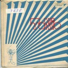 Discos de vinilo: TONIO / BARRERAS Y MURALLAS / CARIÑO + 2 (EP 1969). Lote 165948254