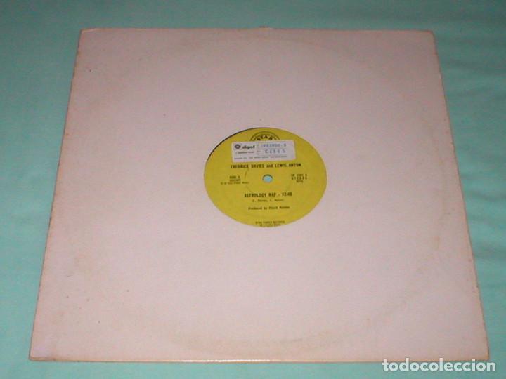 Discos de vinilo: FREDRICK DAVIES & LEWIS ANTON 12 USA MAXI 1980 ASTROLOGY RAP HIP HOP FUNK DISCO Importación Raro !!! - Foto 3 - 165953894