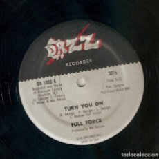 Discos de vinilo: FULL FORCE 12 USA MAXI 33 RPM TURN YOU ON GROOVIN 1980 DAZZ REC FUNK SOUL DISCO IMPORTACIÓN LEER !!. Lote 165955050
