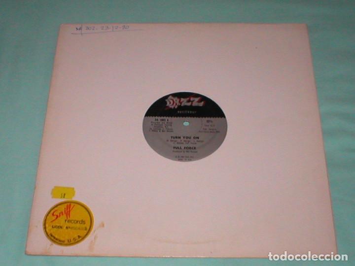 Discos de vinilo: FULL FORCE 12 USA MAXI 33 rpm TURN YOU ON GROOVIN 1980 DAZZ REC FUNK SOUL DISCO Importación Leer !! - Foto 3 - 165955050