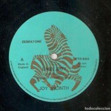 Discos de vinilo: JOY JACINTH 12 UK MAXI 45 RPM BABY BOY ZEBRATONE 1984 PRIVATE FUNK SOUL BOOGIE MUY BUEN ESTADO RARO . Lote 165955986