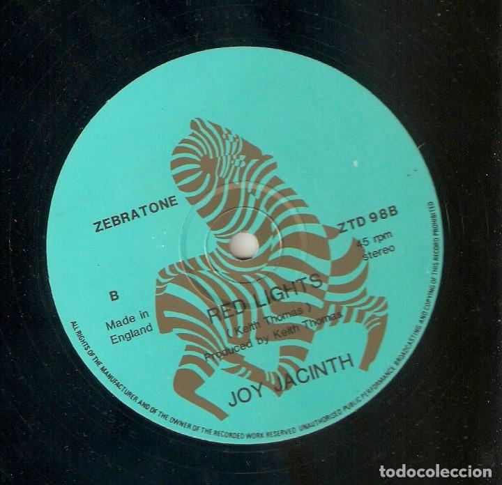 Discos de vinilo: JOY JACINTH 12 UK MAXI 45 rpm BABY BOY ZEBRATONE 1984 PRIVATE FUNK SOUL BOOGIE MUY BUEN ESTADO RARO - Foto 2 - 165955986